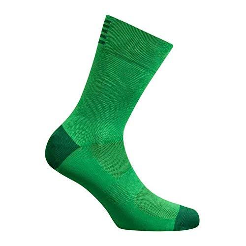 BLOMDE Calcetines Calzado Para Correr Transpirable Para Deportes Al Aire Libre, Carreras, Carretera, Mtb, Senderismo, Ciclismo, Calcetines-Un Verde_Ue 39-45
