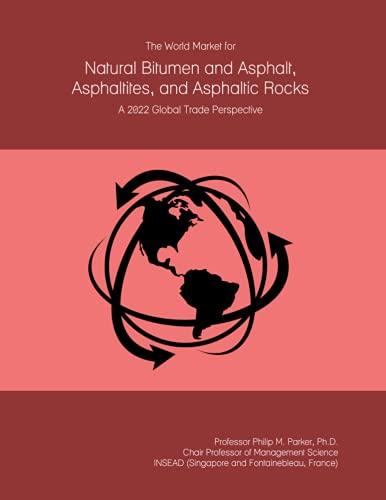 The World Market for Natural Bitumen and Asphalt, Asphaltites, and Asphaltic Rocks: A 2022 Global Trade Perspective