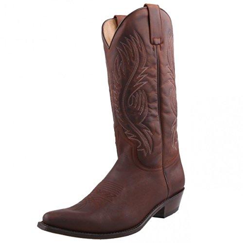 Sendra Boots, Stivali uomo Marrone marrone, Marrone (marrone), 41
