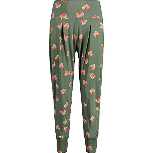 Maloja AgneM. Yoga Pants Women Größe L Cypress Rhodo