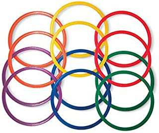 Palos Sports Speed and Agility Flat Hoops - Set of 12-14
