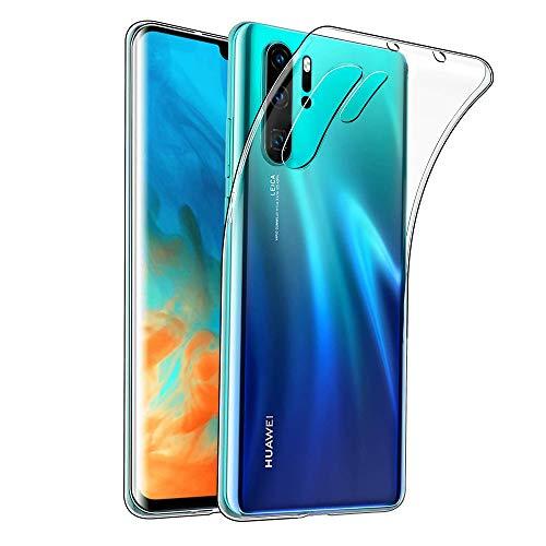 Wepro Huawei P30 Pro H/ülle,Kristallklare Ultrad/ünn Slim Fit Weiche TPU Schutzh/ülle Anti-Gelb Sto/ßd/ämpfung Anti-Kratz Handyh/ülle H/ülle f/ür Huawei P30 Pro