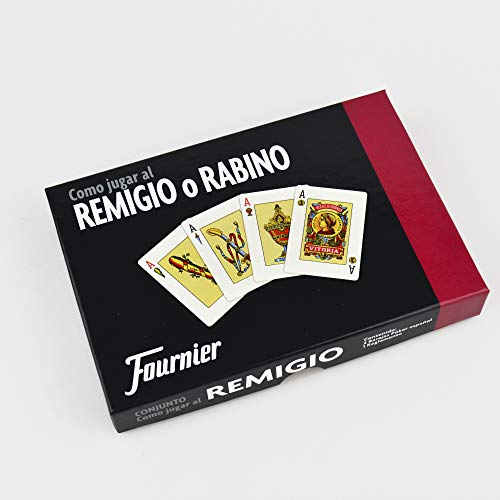 Fournier - Como Jugar al remigio, Conjunto de Juego (F21712)