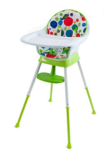 Review Of The World of Eric Carle The Very Hungry Caterpillar Happy and 3 in 1 High Chair, Playful D...