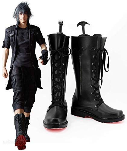 Juego Final Fantasy XV Cosplay Noctis Lucis Caelum Cosplay Botas Hombres adultos Zapatos Halloween Fiesta de Navidad Accesorios 39