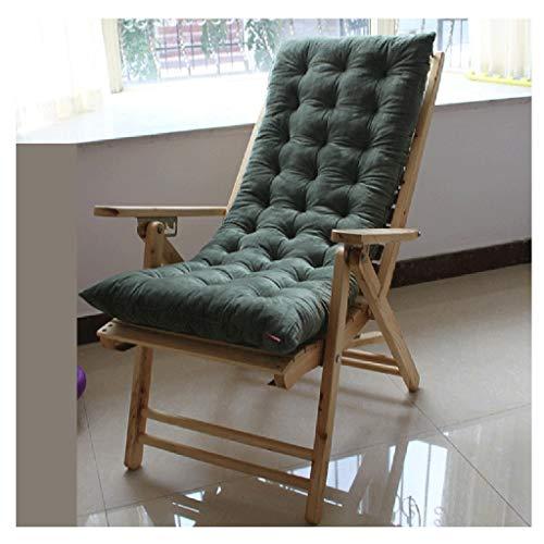 HEJINXL Transat Jardin Matelas Terrasse Épais Pad Outdoor Douillet Élastique Chaise Confortable Antidérapant Épais Rembourré (Pas De Chaise) Coussin Bain Soleil (Color : D, Size : 48x120cm)