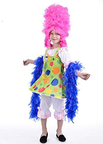Magic Box Costume de Dame de Pantomime pour Enfants Small (3-5yrs)