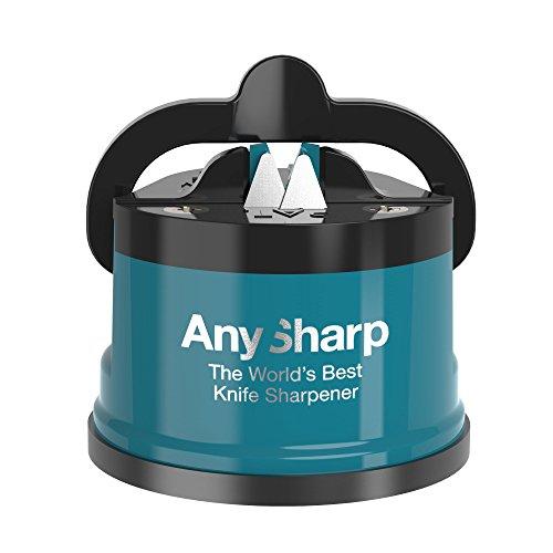 AnySharp Afilador de Cuchillos con Ventosa, Trullo