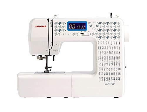 Janome GD8100 máquina de coser con ordenador