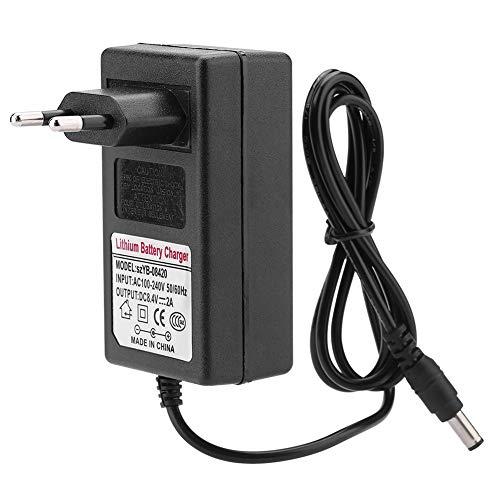 Adaptateur Secteur, AC DC 8.5V 2A Chargeur de Batterie Lithium-ION Remplacement, Adaptateur Mural Portable pour Jouet, Voiture Électrique, Voiture Balance, Appareils Électroniques.(EU)