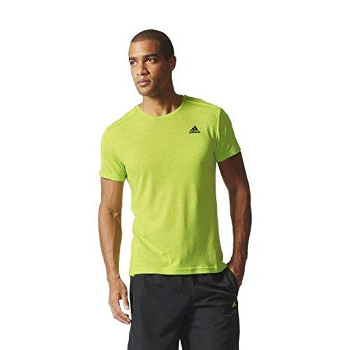 adidas ESS 3S tee - Camiseta para Hombre, Color Negro, Talla 2XL
