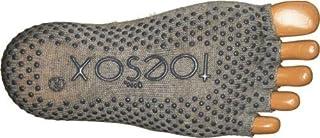 Toe Sox, ToeSox Full Toe Bella Grip Socks, Size- M, Color- Grey