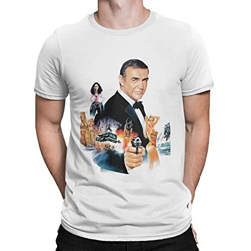 Sean Connery Group T-Shirt - RIP Legend Film 007 Bond Retro Cool TV RUSSIA-2XL