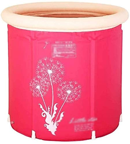 Folding Badkuip stoombad Barrel Volwassenen Folding Stomen Dual-use Bath Barrel Family Sauna Box Body Fumigatie Machine (Grootte: 65cm * 70cm) Geniet binnen en buiten van uw tijd. (Size : 65cm*70cm)