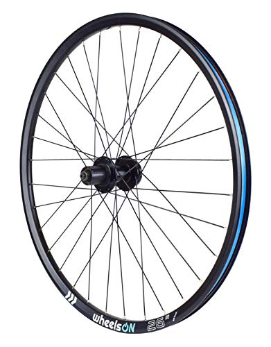 wheelsON QR 26 inch Rear Wheel Mountain Bike 8/9/10 Speed Freehub 32H Black