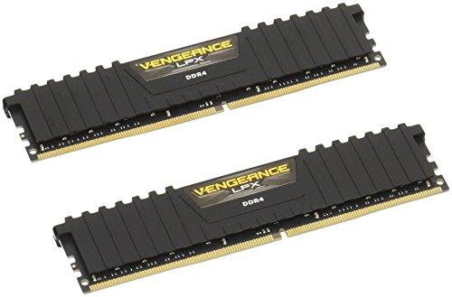 Corsair Vengeance LPX 32GB (2x16GB) DDR4 2133MHz C13 XMP 2.0 High Performance Desktop Arbeitsspeicher Kit, Schwarz