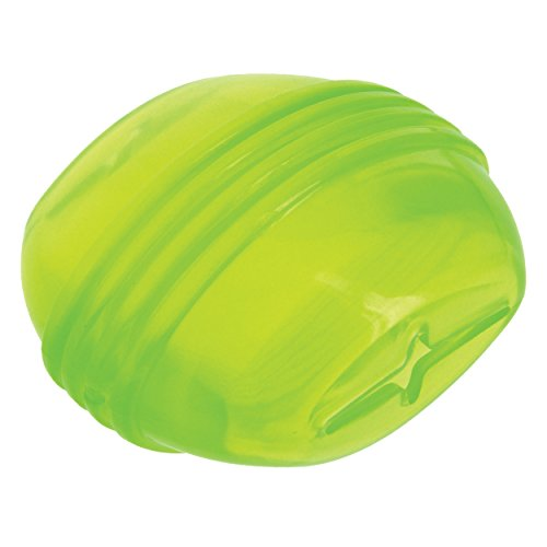 Caitec Corp (CAIAB) Soft Rubber Oval Treat Dispensing Ball Dog Toy