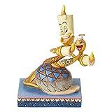 Disney Traditions Lumiere e Fifi 'Romance di Candlelight' Figurine