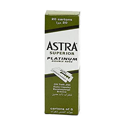 Astra Razor Blades, Pack of 100 from Procter & Gamble