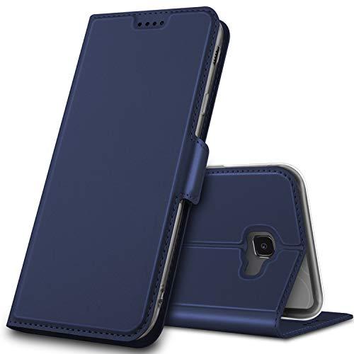 GeeMai für Samsung Galaxy J4 Plus Hülle, Samsung Galaxy J4+ Hülle Flip Hülle Wallet Stylish mit Standfunktion & Magnetisch Ledertasche Schutzhülle handyhüllen passt für Samsung Galaxy J4+ Phone