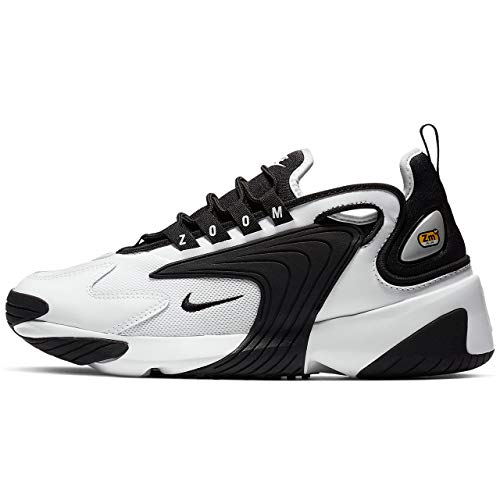 Nike Damen WMNS Zoom 2K Laufschuhe, Weiß (White/Black 100), 40 EU