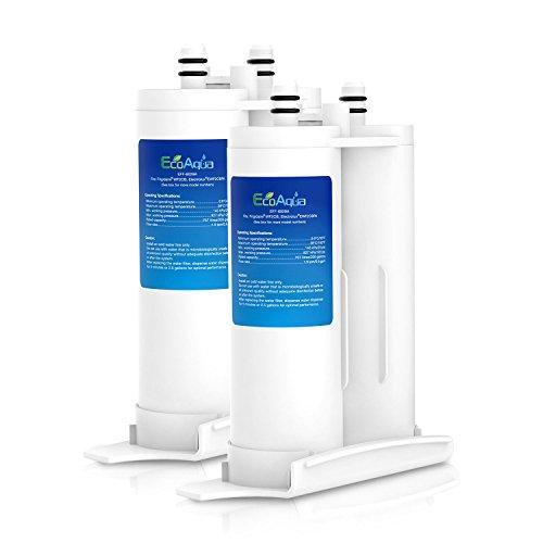 EcoAqua EFF-6029A Replacement de Filtre d'Eau de Frigidaire Compatible avec Frigidaire PureSource2 FC100, 69625-CT-001 Electrolux Pure Advantage, EWF2CBPA; AEG ERL6297KK1; Kenmore 46-9911, 46-9916 (2)