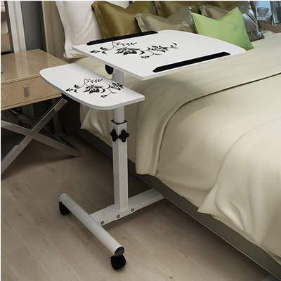 Mesa plegable parto normal de tabla plegable del ordenador portátil ajustable escritorio del ordenador portátil del ordenador portátil Rotar tabla de cama puede ser levantadas de pie turística de porc