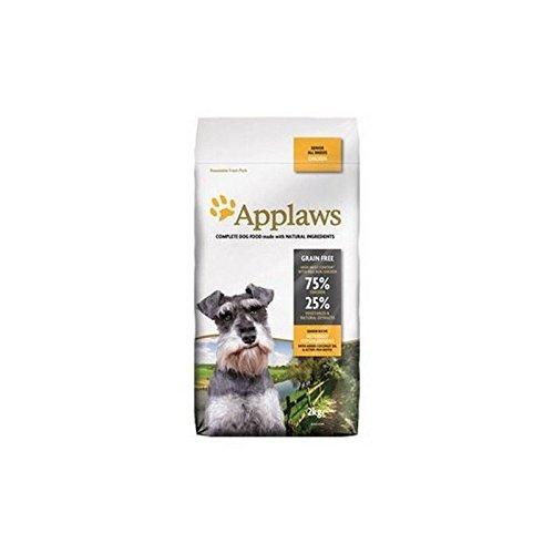 Applaws Dry Dog Food Chicken Senior (2 kg) (Pack de 2)