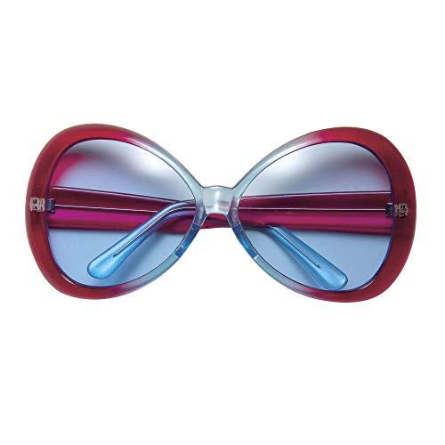 Widmann 67141 Sugar Babe Sonnebrille, Unisex– Erwachsene, Rot/Türkis, Einheitsgröße