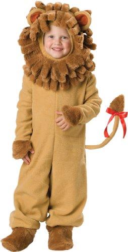 InCharacter Costumes Baby's Lil' Lion Costume, Tan, Medium
