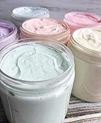Image: Blue Raspberry Slushy Whipped Soap | Foaming Creamy Body Wash in a Jar | Great for Shaving!