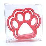 Goggly Ausstechform für Kekse, Teig, Fondant in Form einer Hundepfote (2 Stück)