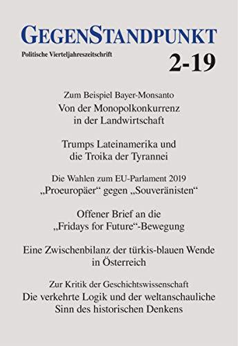 GegenStandpunkt 2-19: Politische Vierteljahreszeitschrift
