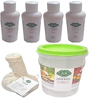 AR Herbals Kottamchukkadi Podi Kizhi Massage Potli 150Gm 1Pc and Mahanarayan Pain Oil 60ML 4Pcs/ Helps In Pain and Inflamm...
