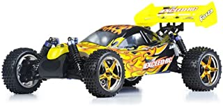 Exceed RC 1/10 2.4Ghz Forza .18 Engine RTR Nitro Powered Off Road Buggy (Fire Yellow)