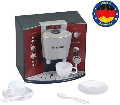 Theo Klein 9569 Bosch Kaffeemaschine mit Sound I Batteriebetriebene Espressomaschine mit realistischen Geräuschen I Maße: 14,5 cm x 19,5 cm x 17 cm I Spielzeug für Kinder ab 3 Jahren
