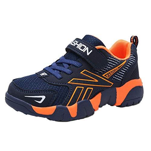 Zapatos Deportivos para niños Zapatillas de Deporte de Malla Bajas Informales Transpirables para niños Zapatillas de Correr Ligeras Antideslizantes para niños
