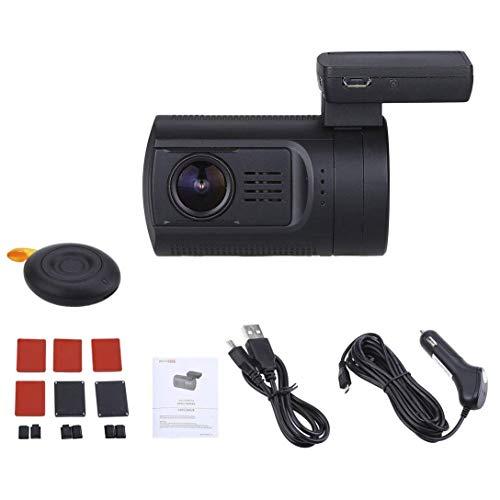 WXHHH DVR Car Dash Camera Speed Coordinate GPS 1080P 60FPS Videoregistratore HD Dash Cam per Auto con Telecomando Temperature HDMI