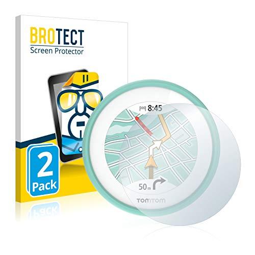 brotect Pellicola Protettiva Compatibile con Tomtom VIO Pellicola Trasparente (2 Pezzi) Anti-Impronte