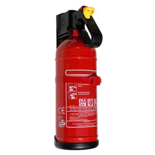 Rotech Auto-Feuerlöscher 2 kg Aufladelöscher mit KFZ-Halter