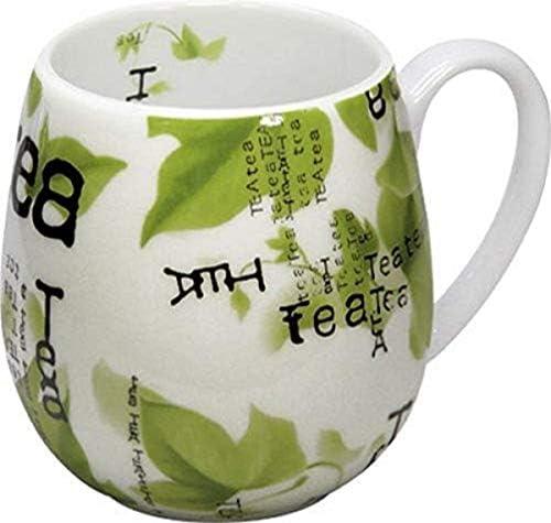 Konitz 14 Ounce Tea Collage Snuggle Mugs Assorted Set of 4 product image