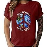 Camisetas de mujer de gran tamaño, elegante, blusa de manga corta, blusa básica, túnica, vintage, camiseta de manga corta, informal, ropa deportiva para mujer DB723