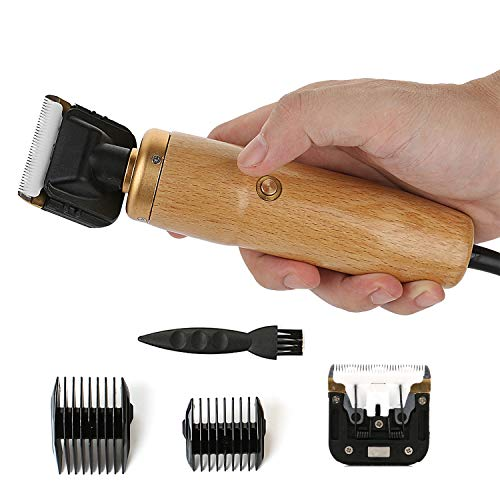55W Tierhaarschneider Haarschneidemaschine Haarschneider Schermaschine Hund und Katze Haustier Grooming Clipper Kits Elektrische Leise Tierhaarschneidemaschine, Geeignet für alle Arten von Haustieren