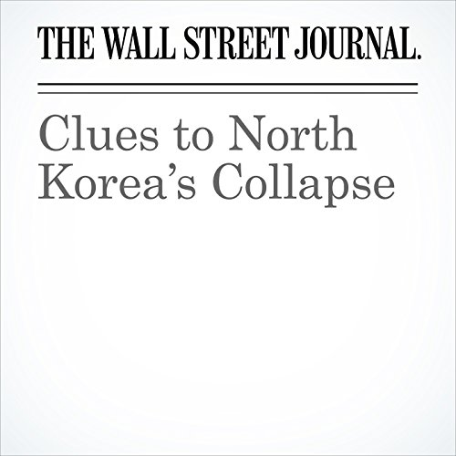 Clues to North Korea's Collapse copertina
