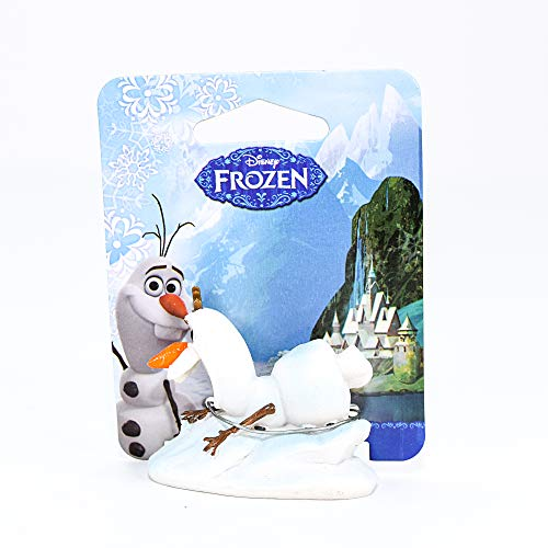 """Penn-Plax Officially Licensed Disney's Frozen Sliding Olaf Mini Ornament: Perfect For Fish Tanks And Small Aquariums! (2.25"""" long, 1.25"""" deep, and 1.75"""" tall) (FZR31)"""