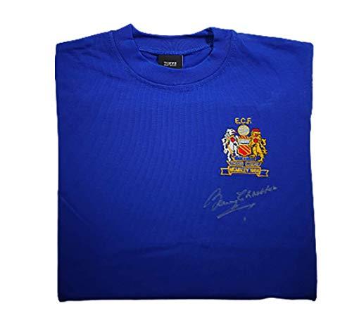 Sir Bobby Charlton Manchester United 1968 EM Finale signiertes Trikot – MUFC Man United Football Club Autogramm-Trikot Fanartikel Souvenir Geschenk