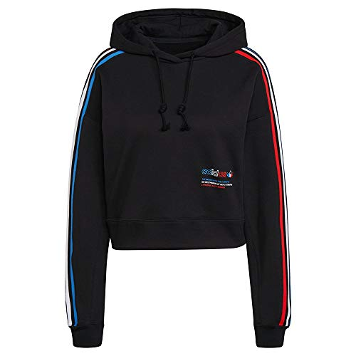 adidas GN2853 Hoodie Sweat Womens Black 42