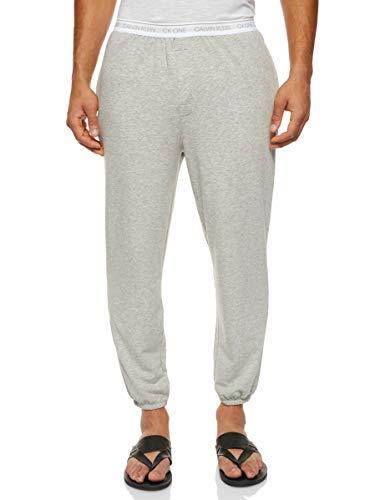 Calvin Klein Jogger Pantalones de Pijama, Gris (Grey Heather 080), M para Hombre
