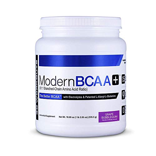 Modern Sports Nutrition BCAA+, Grape Bubblegum, 535 g