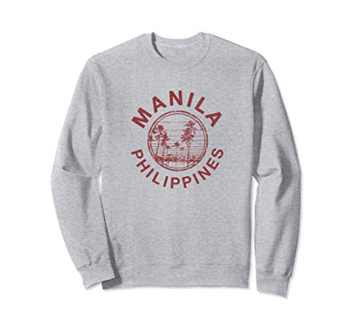 Manila Philippines Retro Filipino Sweatshirt